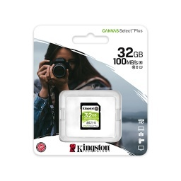 MEMORIA MICRO SD 32GB CLASE 10 CANVAS SELECT KINGSTON