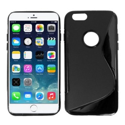 PROTECTOR TPU S LINE IPHONE 6 6S NEGRO