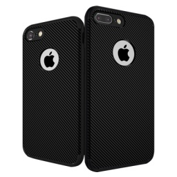 PROTECTOR CARBONO IPHONE 7 NEGRO