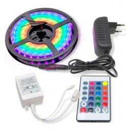 TIRA LED RGB 5M 2835 EXTERIOR CON CONTROL
