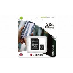 MEMORIA MICRO SD 32GB C10 CANVAS SELECT PLUS KINGSTON