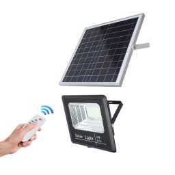 FOCO LED 60 W + PANEL SOLAR CON CABLE AVALON