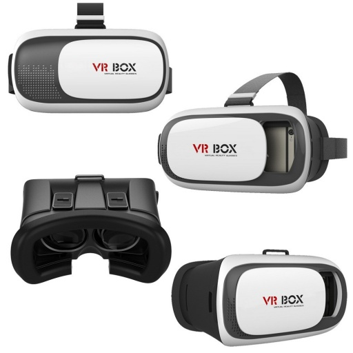 LENTES DE REALIDAD VIRTUAL 3D VR BOX