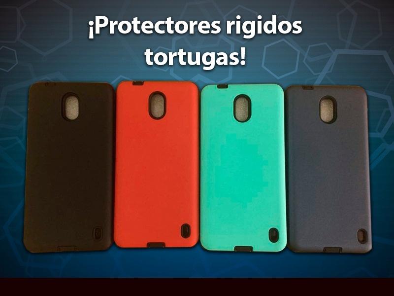 PROTECTOR TORTUGA MOTOROLA C NEGRO
