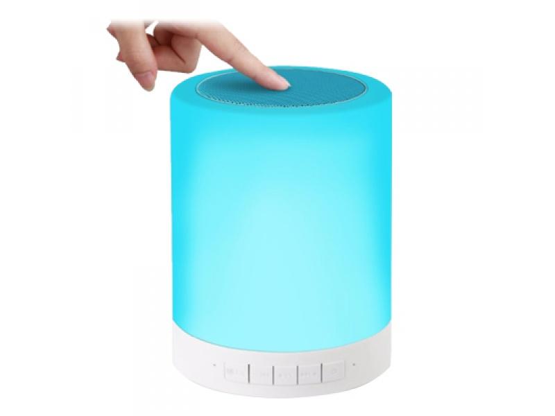 PARLANTE LAMPARA SMART BLUETHOOT FM MSD UBS 3.5