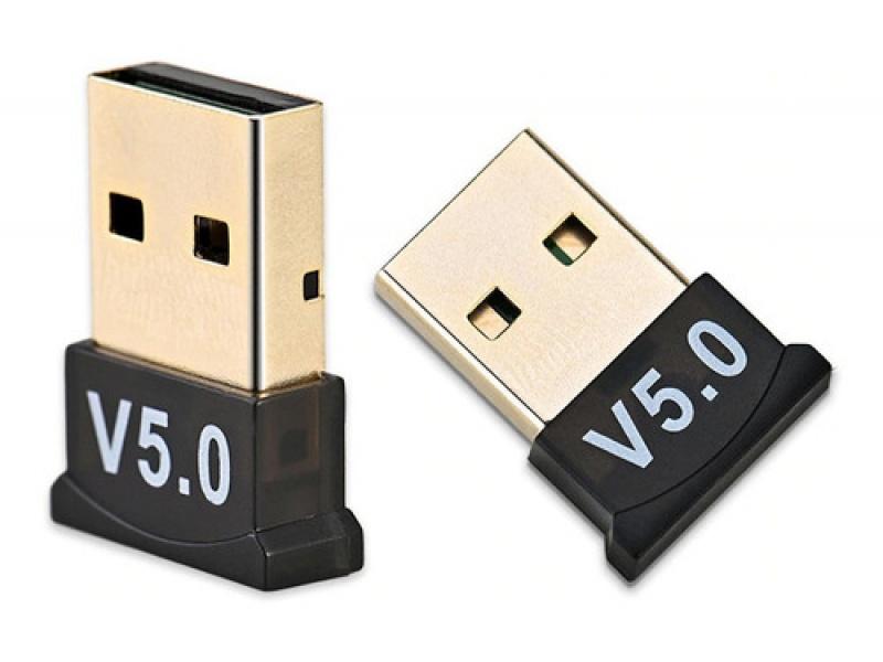 ADAPTADOR RECEPTOR BLUETOOTH USB 5.0 PC AUDIO NOTEBOOK CELU