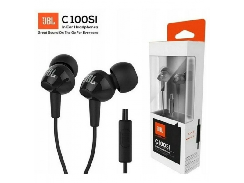 AURICULARES IN-EAR JBL C100SI CON CABLE PLUG JACK 3.5
